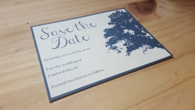 Navy save the date 2